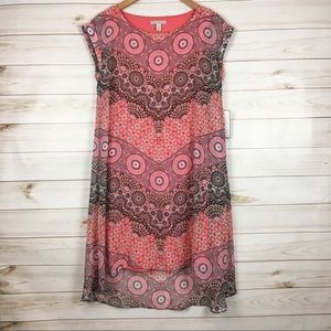 High low overlay dress
